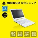 【送料無料/ポイント10倍】マウスコンピューター [ノートパソコン] 《 MB-J320SN-S2-MA 》 【 Windows 10 Home/Celeron 3865U/4GB メ..