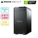 G-Tune PM-B-MA ゲーミングPC デスクトップ パソコン Windows10 Core i7-10700 16GB メモリ 512GB M.2 SSD GeForce GTX1660 SUPER mouse マウスコンピューター BTO 新品