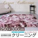 ムートン クリーニング【送料無料】 約200x250cm 長方形 カーペット ウール 敷物