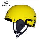 2015 CAPIX MESH SKULL YELLOW【キャピックス】スノーボードヘルメット【SPP_50】