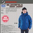 ダウンジャケット マムート MAMMUT WS SNOWFIELD Down ジャケット カラー:space.S(5189)【MAMMUT_2015FW】