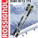 ROSSIGNOL【ロシニョール】DEMO BETA TPX+AXIAL3 120 Tpi2 B80 Black Yellow 【rsg-sk】