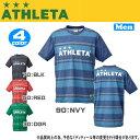 ■即出荷 あす楽■ATHLETA【アスレタ】 メンズ 半袖 ボーダープラティスTシャツ サッカーウェア ath-16ss