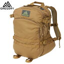 GREGORY(グレゴリー) 新ロゴマーク! RECON PACK COYOTE BROWN リーコンパック コヨーテブラウン /686344869 (tp10...