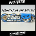 SPITFIRE(���ԥåȥե����䡼) WHEELS FORMULAFOUR 99D RADIALS WHT �������� SK8