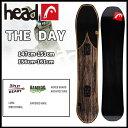 16-17 HEAD(ヘッド) THE DAY ≪16-17HEAD_sb≫スノーボード ヘッド 日本正規品 板 スノボ