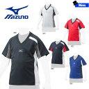 野球 ウェア ジュニア ミズノ MIZUNO ベースボールコレクション ベースボールTシャツ V首