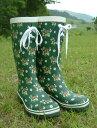 普段履きしたくなるほどカワイイ♪Strawberry レインブーツ(イチゴ柄ゴム長靴)