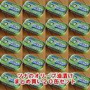 【送料無料】ツナのオリーブオイル漬け110g≪20個セット≫【あす楽対応】
