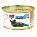 フォルツァ10 CAT プレミアム ナチュラルグルメ缶 ツナと小エビ75g