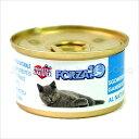 フォルツァ10 CAT プレミアム ナチュラルグルメ缶 サバと小エビ75g