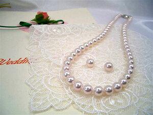 高級【花珠】6.5~7.0mmアコヤ真珠ネックレスセット