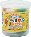 【アーテック】6色小麦粉ねんど ※お取り寄せ商品 【RCP】【02P03Dec16】