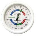 【クレセル】温湿度計 快適家電管理表示 ホワイト TR−130W ※お取り寄せ商品【RCP】【02P03Dec16】