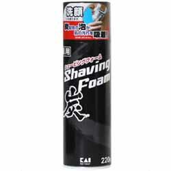 【貝印】薬用炭シェービングフォーム 220g ◆...の商品画像
