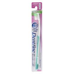 【クリエイト】歯ブラシ デントファイン ラバーグリップ ストレートカット ふつう 1本 (※カラーは選べません) ※お取り寄せ商品【RCP】