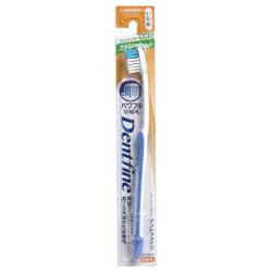 【クリエイト】歯ブラシ デントファイン ラバーグリップ ストレートカット かため 1本 (※カラーは選べません) ※お取り寄せ商品【RCP】