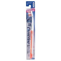 【クリエイト】歯ブラシ デントファイン ラバーグリップ 山切りカット ふつう 1本 (※カラーは選べません) ※お取り寄せ商品【RCP】