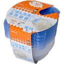 【クレハ】ごはん冷凍保存容器< 一膳分用> 5個 (250ml)◆お取り寄せ商品【RCP】【02P03Sep16】