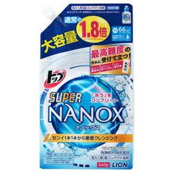 なんと!あの【ライオン】トップ SUPER NANOX(スーパー <strong>ナノックス</strong>) つめかえ用 大容量 660g が「この価格!?」 ※お取り寄せ商品【RCP】【02P03Dec16】