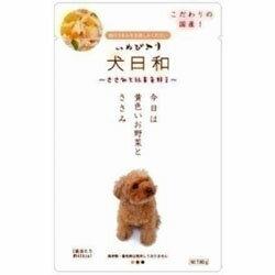 【わんわん】犬日和レトルト ささみと野菜 80g...の商品画像