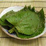 胡麻の葉醤油漬け (3束)