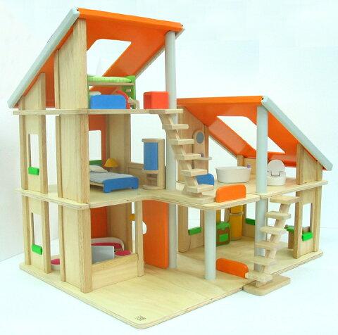 PLANTOYS プラントイ シャレードールハウス 7141 PLAN TOYS プラントイ 知育玩具 木製 木のおもちゃ 出産祝い 誕生日 赤ちゃん 子供