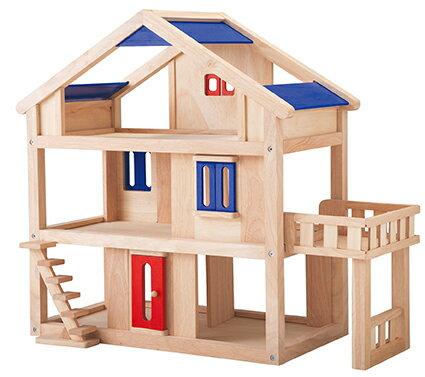 7150 新テラスドールハウス PLAN TOYS プラントイ 知育玩具 木製 木のおもちゃ 出産祝い 誕生日 赤ちゃん 子供