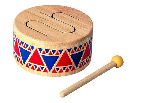 PLANTOYS プラントイ 6404 ソリッドドラム 知育玩具 木製 木のおもちゃ 出産祝い 誕生日 赤ちゃん 子供