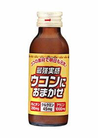 【1ケースで1送料】 関西薬品工業 最強実感 ウコンにおまかせ 瓶 100ml×50本入 [同梱不可]