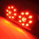 【メール便】マジェスティー 4HC LEDテールランプ ブレーキランプ ヤマハ 砲弾型 LED18灯 電球 マジェスティ テールライト バイク用品 パーツ スクーター 原付 単車 二輪 カスタム