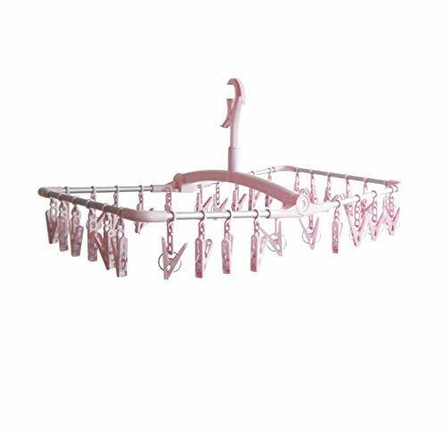 東和産業 洗濯物ハンガー ピンク