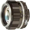 【送料無料】VoightLander フォクトレンダー 単焦点レンズ NOKTON 58mm F1.4 SLIIS Ai-S ニコンFマウント対応 シルバーリム 231641