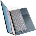 【送料無料】エレコム Surface Laptop 3 ナイロンキーボードカバー クリア PKB-MSL3