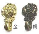 【プッシュピンハンガー】薔薇5個入り 金/銅 をお選びください。