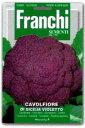 【イタリアの野菜の種】Franchi社 カリフラワーDI SICILIA VIOLETTO バイオレットシチリア