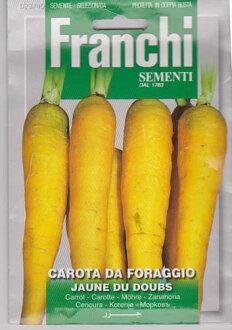 [義大利蔬菜種子] 法蘭基,黃胡蘿蔔 2340