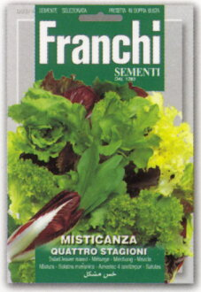 法蘭基,Inc.-義大利蔬菜種子 (種子混合) [93 / 4]