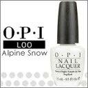 【OPI/オーピーアイ】【L00】Alpine snow/アルパイン スノー  15ml 【2つまで普通郵便OK・レターパックOK】