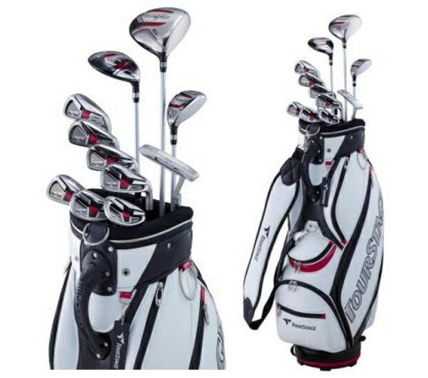 ブリジストン BRIDGESTONE TOURSTAGE ツアーステージ V002 初級者/ゴルフ再開者がやさしくゴルフを楽しめるセットモデルエレガントなスタイル