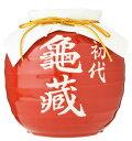 本格麦焼酎シェリー樽貯蔵 初代亀蔵(赤) 1800ml 【焼酎/岡山県/宮下酒造】