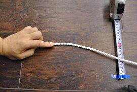 ロープ PPロープ(白) 分径(直径)6mm 切り売り