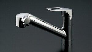 ●INAX水栓金具浄水器兼用混合栓台付きハンドシャワータイプ【品番TKN34PBTSZ】