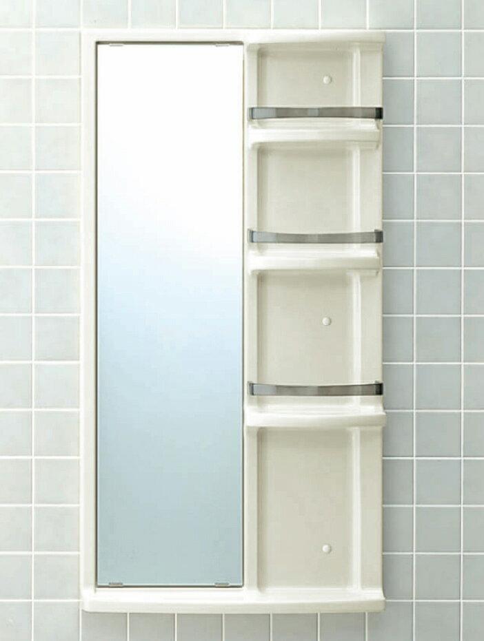24時間限定ポイント2倍♪12月1日10時〜【送料無料】LIXIL INAX 浴室収納棚鏡付(平付)品番【YR-612G】