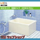 【左排水:PB-901BL/L11】【右排水:PB-901BR/L11】INAX ポリエック 浴槽 900サイズ和風タイプ2方半エプロン(埋め込み)【住宅設備のM…