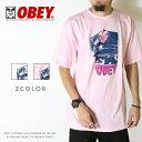 【セール 30%OFF】【OBEY オベイ】 tシャツ 半袖 プリント スケート ストリート グラフィック メンズ men's 正規品 インポート ブランド 海外ブランド ストリートブランド 163081737