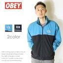 【OBEY オベイ】 ナイロンジャケット ウインドブレーカー ジャケット アウター ストリート スケーター グラフィック メンズ men's 正規品 インポート ブランド 海外ブランド ストリートブランド 121800360