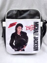 流行包, 飾品, 名牌配件 - ショルダーバッグ Michael Jackson(マイケル・ジャクソン) BAD 黒 ブラック/KING OF POP/ジャクソン5