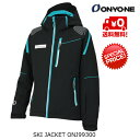 SALE オンヨネ スキージャケット ONYONE OUTER JACKET ONJ99300 009 ブラック [ONJ99300-009]