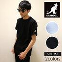 メンズ カンゴール Tシャツ スタンダードポイント 半袖ワンポイント【送料無料】「LCK0007」